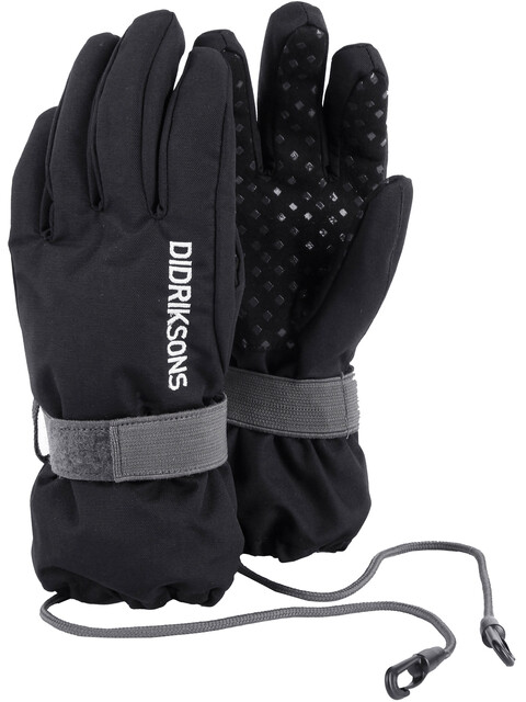 Didriksons 1913 Biggles Gloves Kids Black